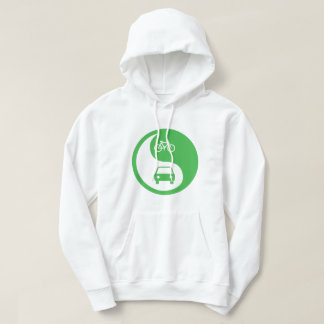 Share the Road Yin Yang Hoodie