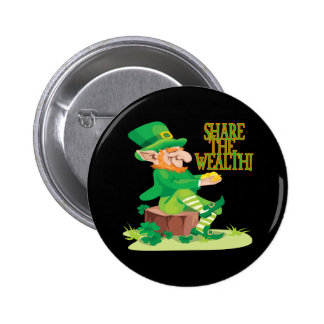 Share The Wealth 6 Cm Round Badge