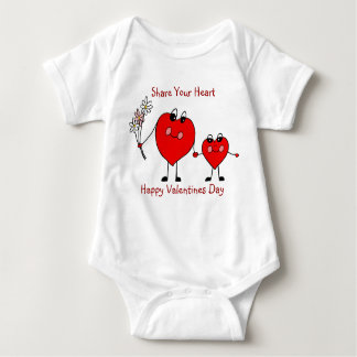 Share Your Heart Valentines Infant Creeper