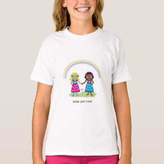 SHARE YOUR LOVE - LOVE is LOVE- Equality for All T-Shirt