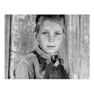 Sharecropper's Son - 1937 Postcard