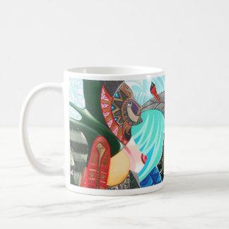 sharing a breath classic white coffee mug
