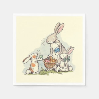 Sharing At Easter Easter Paper Napkins