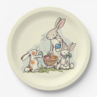 Sharing At Easter Easter Paper Plate