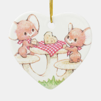 Sharing Is Caring Spring Summer Mice Christmas Ornament