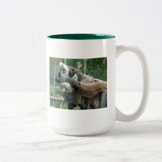 Sharing Two-Tone Coffee Mug