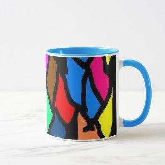 sharis stained glass mug