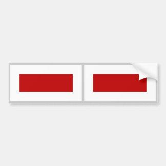 Sharjah Flag Bumper Sticker