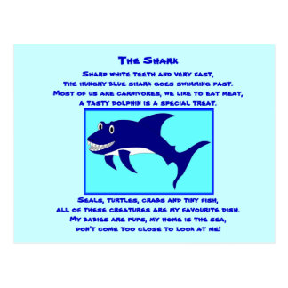 Shark1 postcard poem