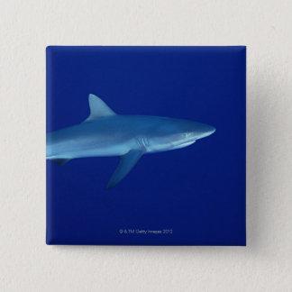 Shark 15 Cm Square Badge