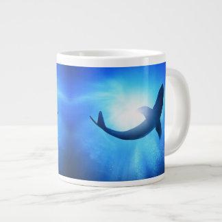 Shark 20 Oz Large Ceramic Coffee Mug Jumbo Mug
