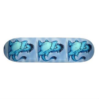 "SHARK ALIEN CARTOON Skateboard 8½"""