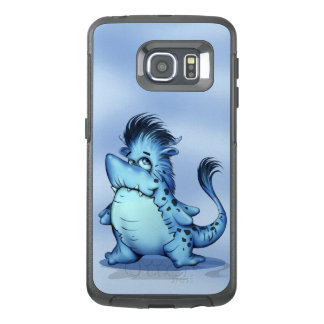 SHARK ALIEN MONSTER CARTOON Samsung Galaxy S6Edge