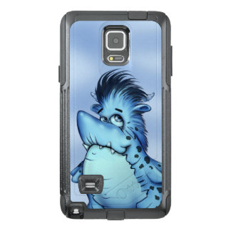 SHARK ALIEN MONSTER CARTOON Samsung Note 4