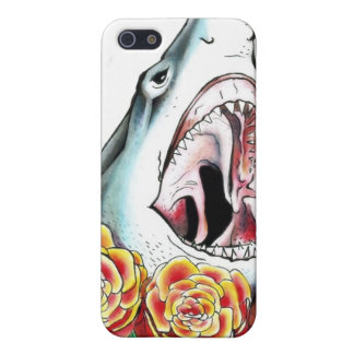 Shark and Roses iPhone 5 Cover