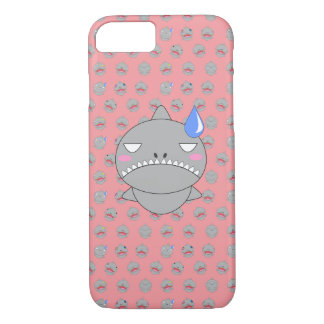 Shark and sad iPhone 7 case