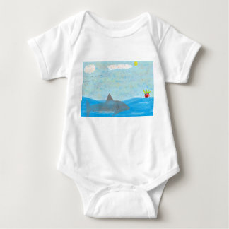 Shark and Wilson Baby T Baby Bodysuit