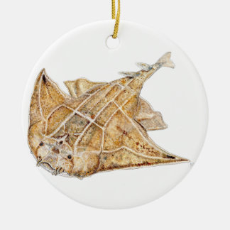 Shark angel, angelote christmas ornament