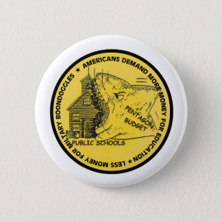 Shark Attack 6 Cm Round Badge