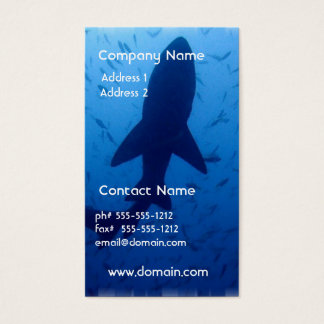 Shark Attack Business Card