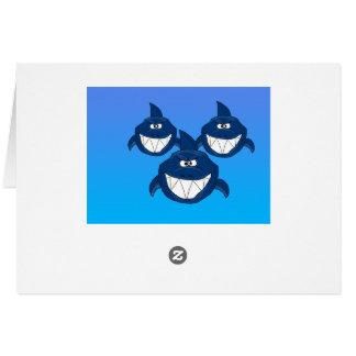 Shark attack card