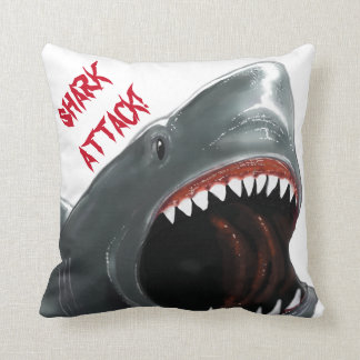 Shark Attack Cushion