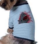 Shark Attack Dog Clothes