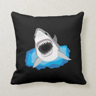 Shark Attack - Great White Shark Cushion