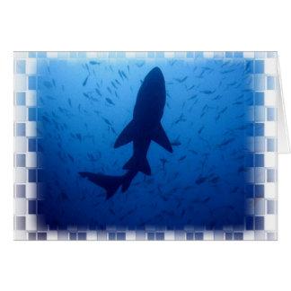 Shark Attack Greeting Card