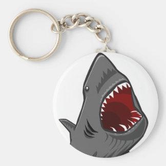 Shark Attack Key Ring