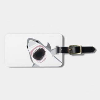 Shark Attack Luggage Tag