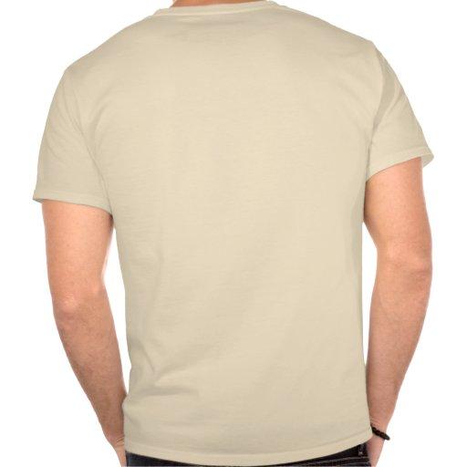 Shark Attack Survivor Black Shark Drawing T-shirts