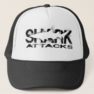 Shark Attacks Trucker Hat
