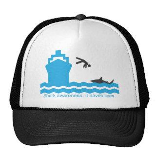 shark awareness cap