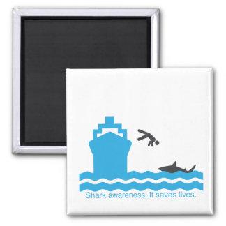 shark awareness magnet