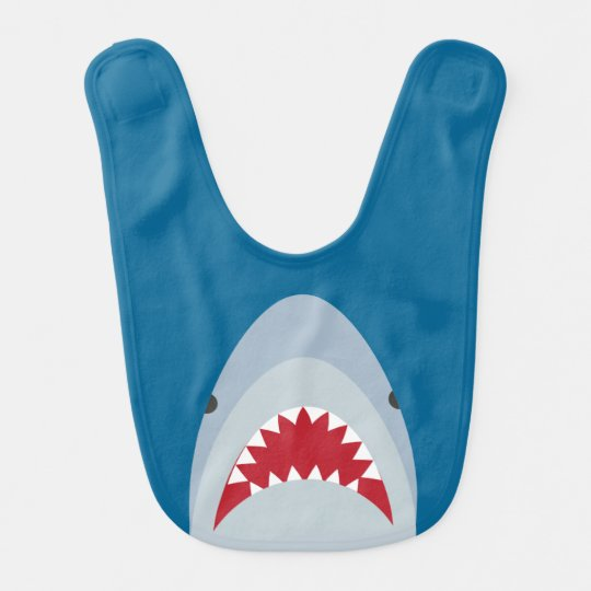 Shark Baby Bib