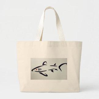 Shark Canvas Bags