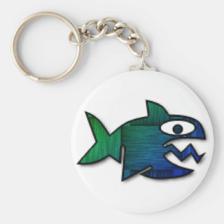 Shark Bait Key Ring