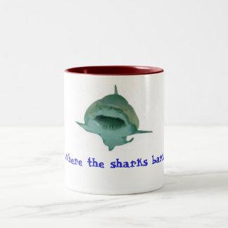 Shark Bark mug