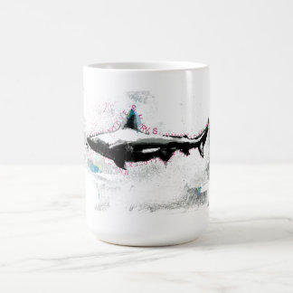 shark basic white mug