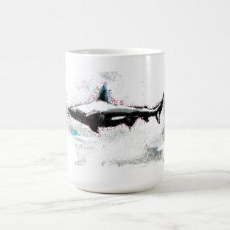 shark basic white mug
