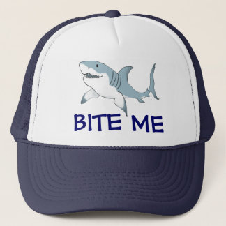 Shark Bite Me hat