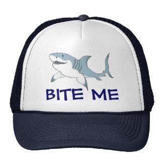 Shark Bite Me hat