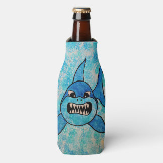 Shark Bottle and Can Cooler