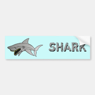 Shark Bumper Sticker