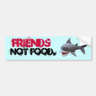 Shark bumpersticker bumper sticker