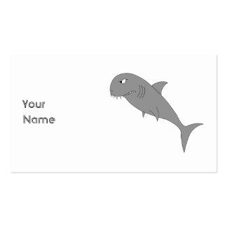 Shark. Business Card