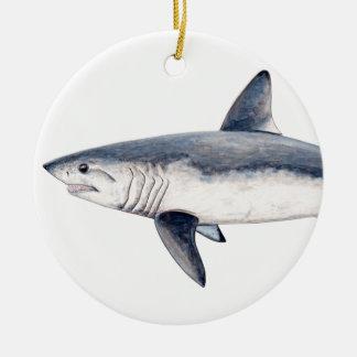 Shark cailon christmas ornament