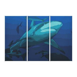 Shark Canvas Print -
