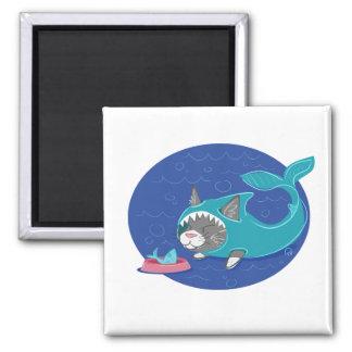Shark Cat - Magnet